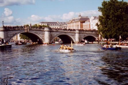 Thames Bridges In London